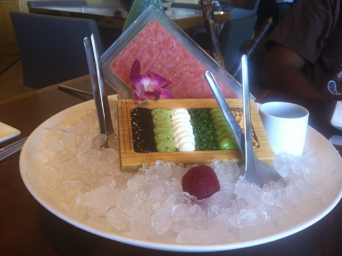 Morimoto in Napa … I'd say they have the art of presentation and the fusion of taste perfected !